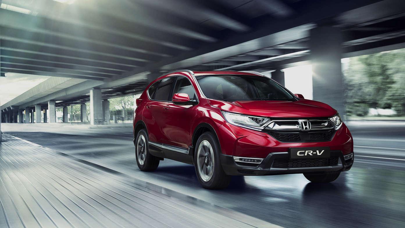 Nye Honda CR-V får du hos Auto 2000